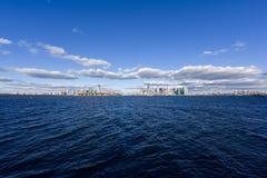 Panorama di New York City Immagine Stock Libera da Diritti
