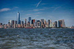 Panorama di New York Manhattan Fotografie Stock Libere da Diritti