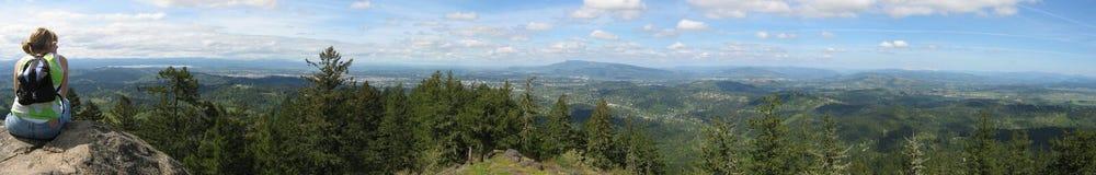 Panorama di nord-ovest della valle Fotografie Stock