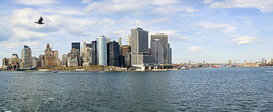 Panorama di NYC Immagine Stock Libera da Diritti