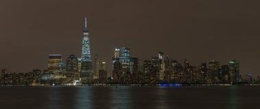 Panorama di NYC Fotografia Stock Libera da Diritti