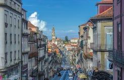 Panorama di Oporto, Portogallo Fotografia Stock Libera da Diritti