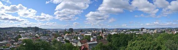 panorama di Oslo Fotografia Stock