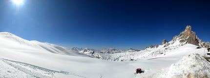 Panorama di paesaggio della montagna Immagini Stock