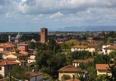 Panorama di Pietrasanta Stock Images