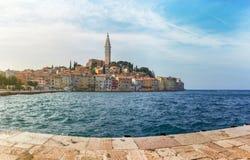 Panorama di Porec, Croatia Fotografia Stock Libera da Diritti