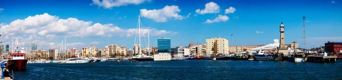 Panorama di porto Vell Fotografia Stock Libera da Diritti