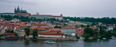 Panorama di Praga Immagini Stock Libere da Diritti