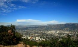 Panorama di punta di Burbank Fotografia Stock