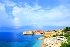 Panorama di Ragusa Fotografie Stock