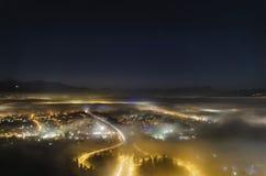 Panorama di Rheintal Fotografia Stock Libera da Diritti