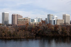 Panorama di Richmond immagini stock libere da diritti