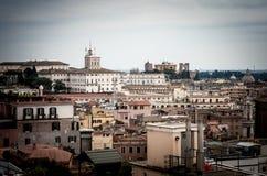 Panorama di Roma Immagine Stock