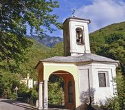 Panorama di Sacro Monte Immagine Stock