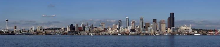 Panorama di Seattle Fotografie Stock Libere da Diritti