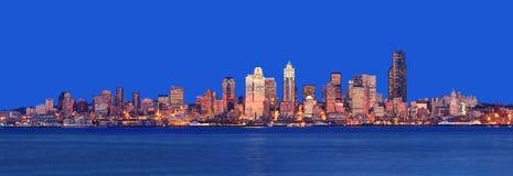 Panorama di Seattle immagine stock