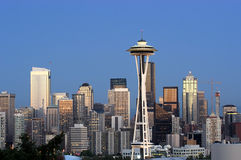 Panorama di Seattle immagine stock