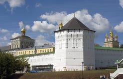 Panorama di Sergius Lavra della trinità Fotografia Stock