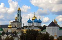 Panorama di Sergius Lavra della trinità Mondo Herit dell'Unesco Fotografia Stock