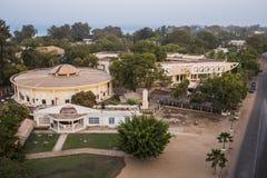 Panorama di Serrekunda Fotografia Stock