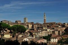 Panorama di Siena Tuscany Fotografia Stock