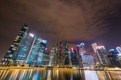 Panorama di Singapore Fotografie Stock Libere da Diritti