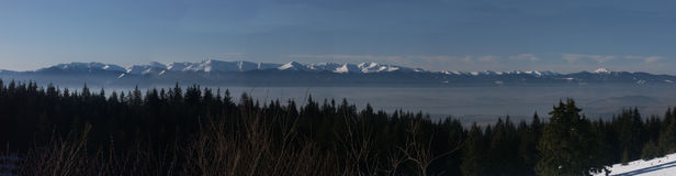 Panorama di Slovac Fotografie Stock