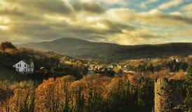 Panorama di Snowdonia Immagini Stock Libere da Diritti