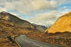 Panorama di Snowdonia Immagini Stock