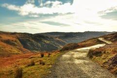 Panorama di Snowdonia Fotografie Stock Libere da Diritti