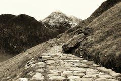 Panorama di Snowdonia Immagine Stock