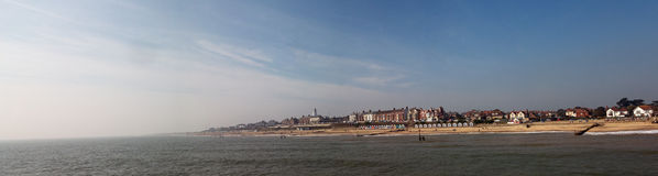 Panorama di southwold Immagine Stock