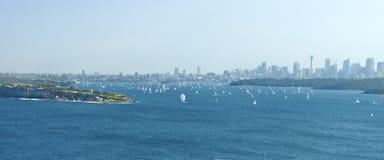 Panorama di Sydney fotografie stock libere da diritti