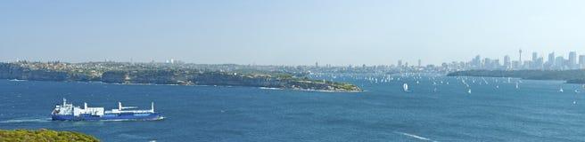 Panorama di Sydney Immagini Stock
