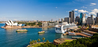 Panorama di Sydney Fotografie Stock