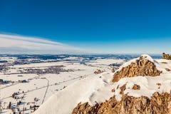 Panorama di Tegelberg Immagine Stock