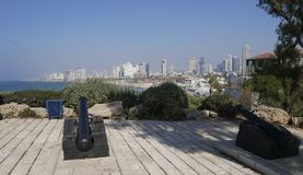 Panorama di Tel Aviv Immagini Stock