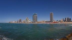 Panorama di Tel Aviv Fotografia Stock Libera da Diritti