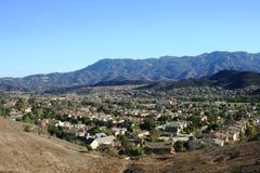 Panorama di Thousand Oaks Fotografia Stock Libera da Diritti