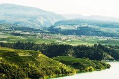 Panorama di Trentino Fotografia Stock