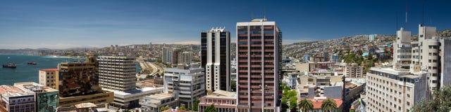 Panorama di Valparaiso Immagine Stock Libera da Diritti