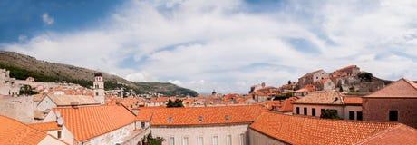 Panorama di vecchia città di Ragusa, Croazia Fotografia Stock Libera da Diritti