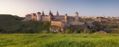 Panorama di vecchia fortezza Immagine Stock