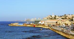 Panorama di vecchio Jaffa Fotografia Stock Libera da Diritti