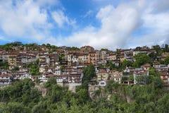 Panorama di Veliko Turnovo fotografia stock libera da diritti