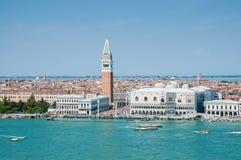 Panorama di Venezia, Italia Fotografia Stock Libera da Diritti