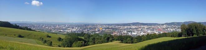 Panorama di Vien Fotografie Stock
