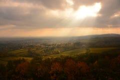 Panorama di Vienna Fotografie Stock