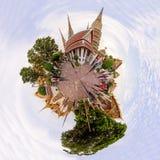 Panorama 360 di Wat Phra Chettuphon Wimon Mangkhalaram Ratchaworamahawihan Wat Pho fotografie stock