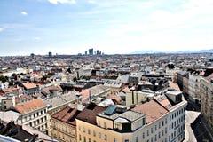 Panorama di Wien immagini stock libere da diritti